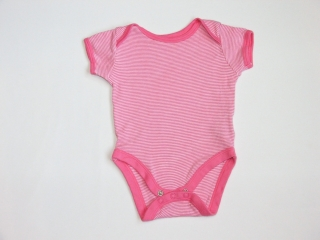 Růžové body vel. 62, zn. MOTHERCARE